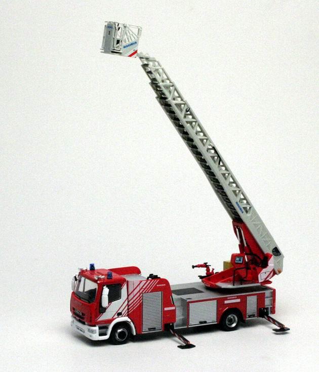 Iveco Camion de Pompiers Grande Echelle MAGIRUS 1/43 ELIGOR