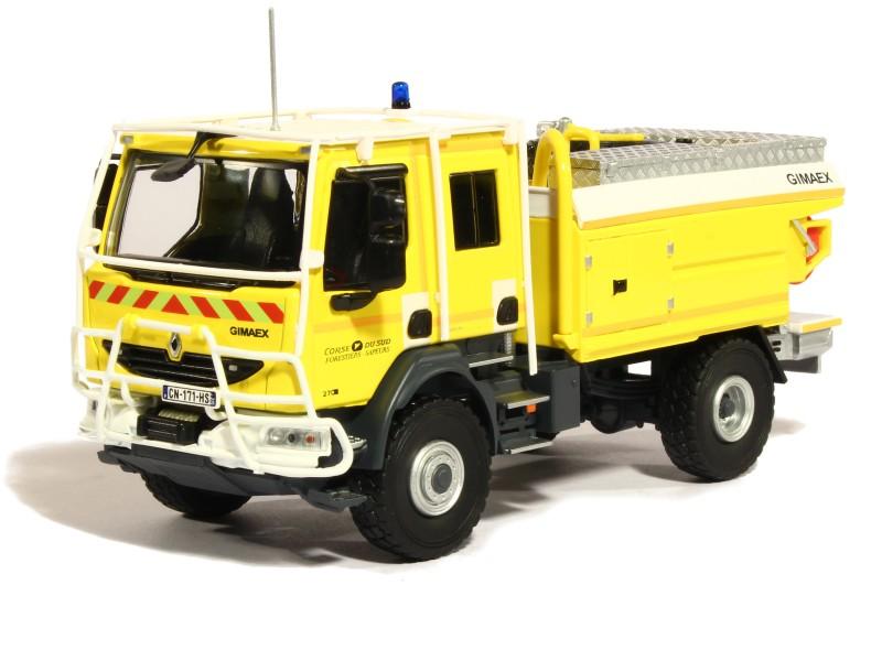 renault midlum camion de pompiers ccf forestier corse du sud 1 43 eligor ebay. Black Bedroom Furniture Sets. Home Design Ideas