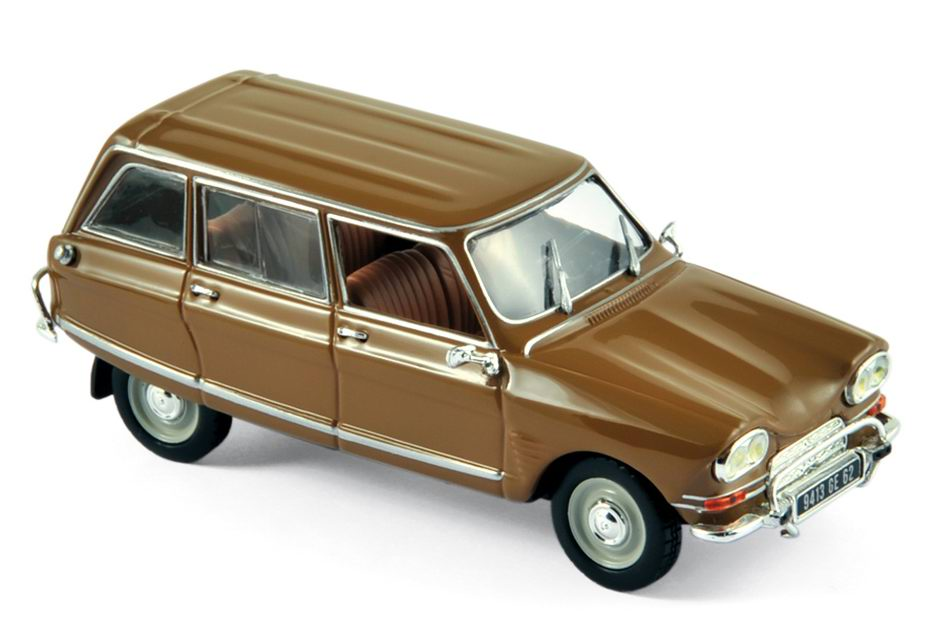 CITROEN Ami 6 Club Break de 1968 Or Foncé 1/43 NOREV