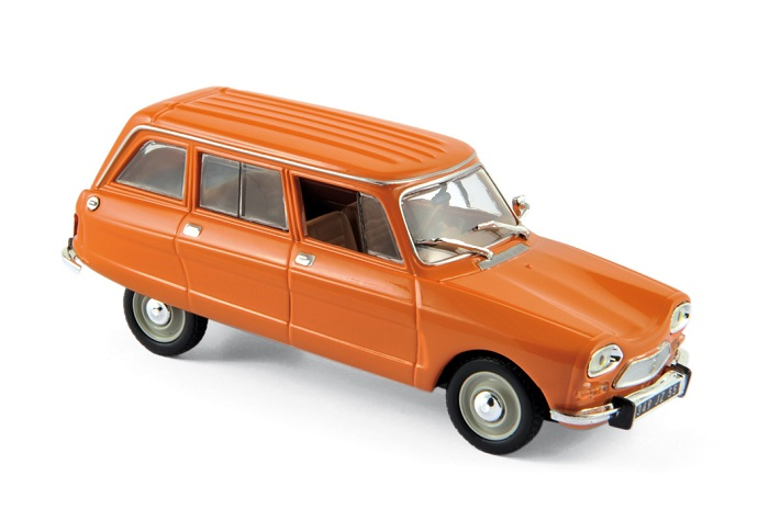 CITROEN Ami 8 Break de 1976 Ténéré Orange - 1/43 NOREV