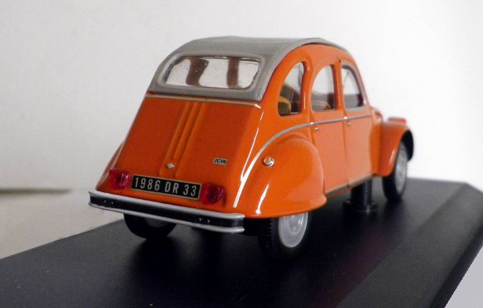 CITROËN 2CV 6 Orange 1975 - NOREV 1/43