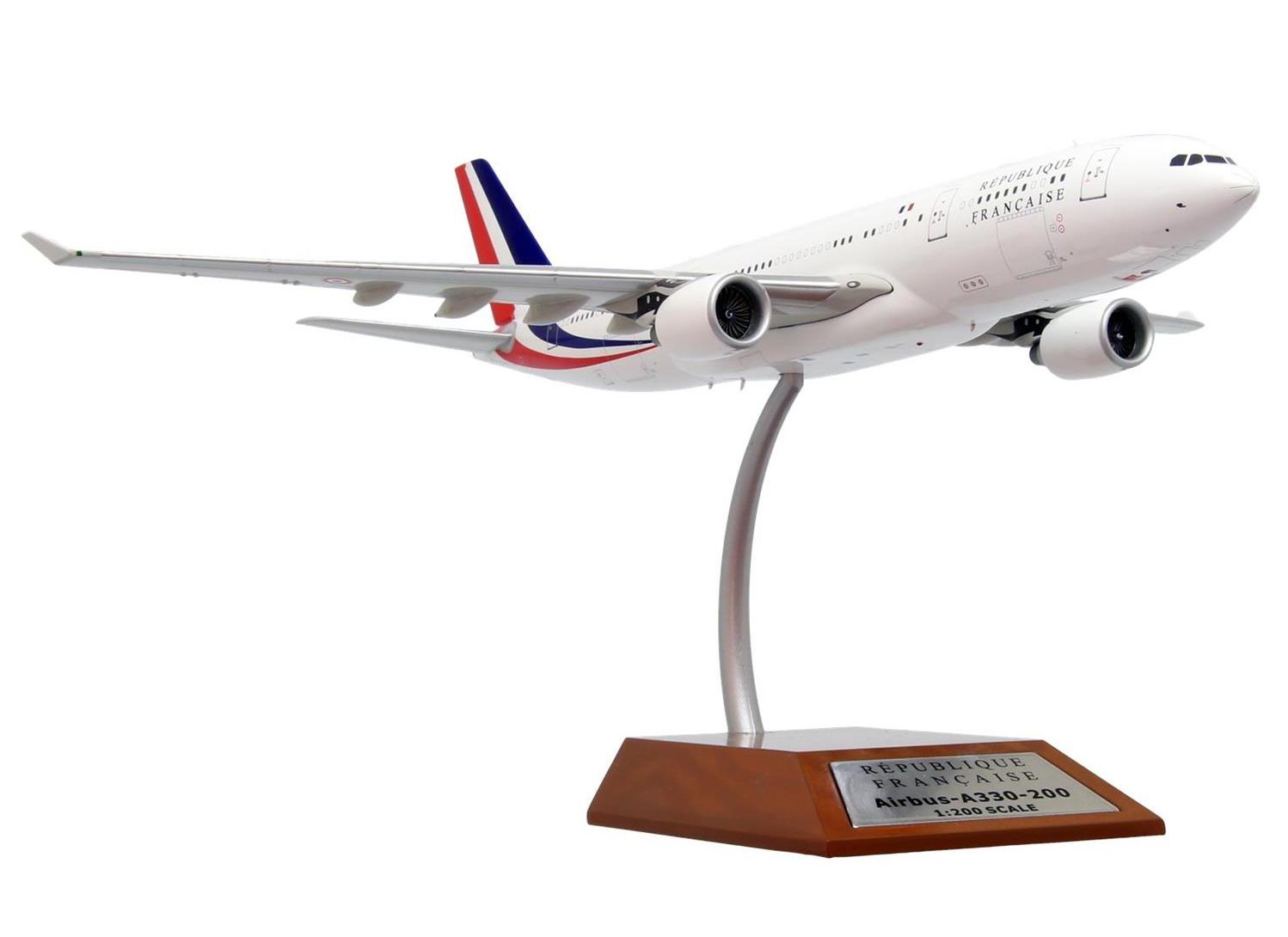 diecast model AIRBUS A330-200 Presidential French Republic 1/200
