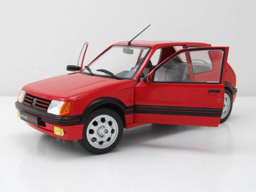 nouveaut s peugeot 205 gti 1 9l de 1985 rouge voiture de. Black Bedroom Furniture Sets. Home Design Ideas