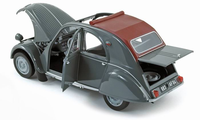 maquette 2cv citroen 1 18. Black Bedroom Furniture Sets. Home Design Ideas
