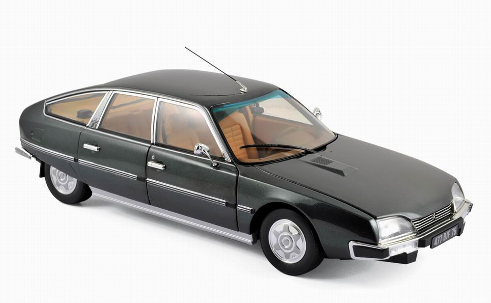 car citroen cx 2200 pallas 1976 vulcan grey 1 18 norev ebay. Black Bedroom Furniture Sets. Home Design Ideas