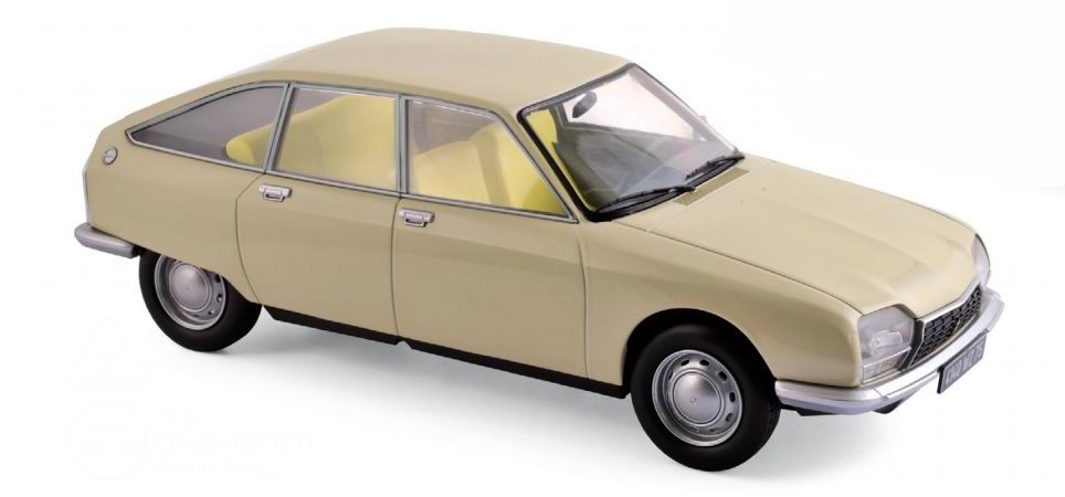 Miniature CITROEN GS 1971 1/18 NOREV
