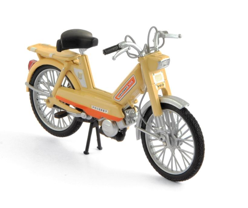 Models > Moto > Peugeot > Moped PEUGEOT 103 L of 1972 Beige