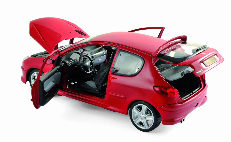 peugeot 206 rc rouge aden de 2003 voiture de collection. Black Bedroom Furniture Sets. Home Design Ideas