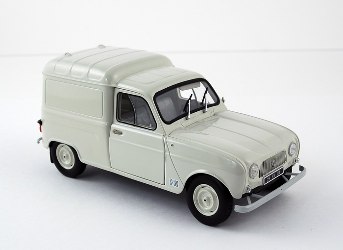 RENAULT 4 F4 Blanche 1965 NOREV
