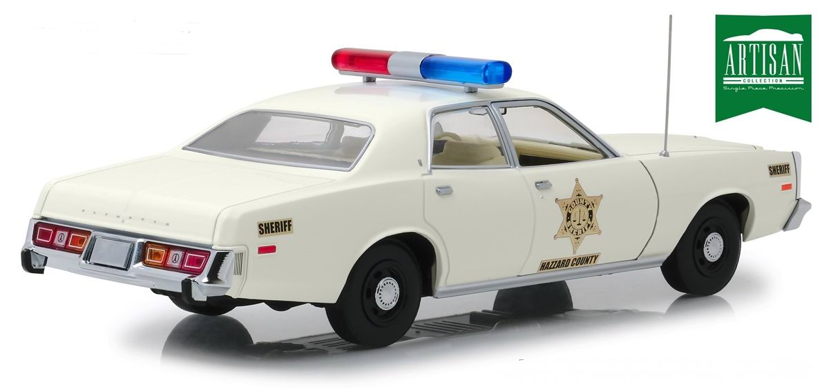 nouveaut s voiture plymouth fury 1977 sherif rosco purvis coltrane police de la s rie sh rif. Black Bedroom Furniture Sets. Home Design Ideas