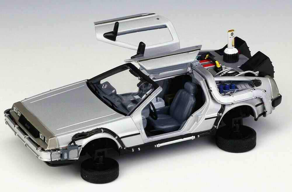Figurines > Cars > Movies > DELOREAN Time Machine Fly Mode Back To ...