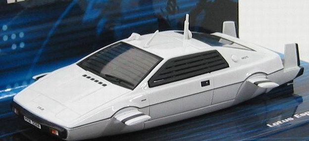 james bond 007 v hicule lotus esprit s1 sous marin l espion qui m aimait au 1 43 ebay. Black Bedroom Furniture Sets. Home Design Ideas
