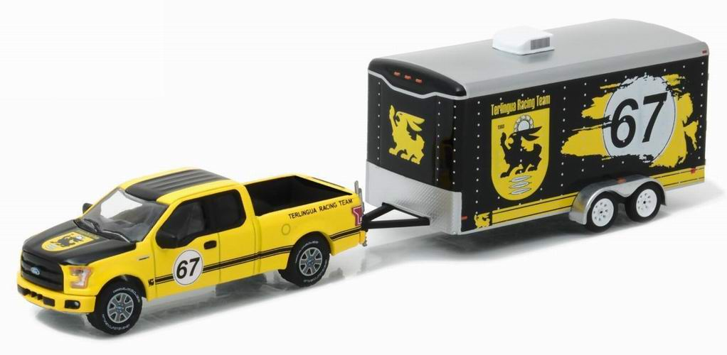 Voiture Ford F150 Pickup Avec Remorque TERLINGUA RACING 1/64