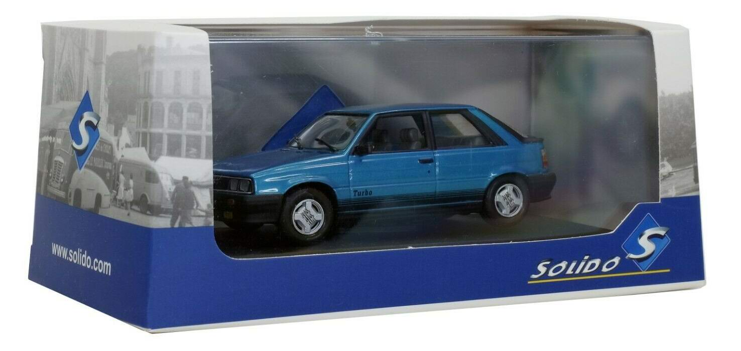 Voiture Miniature R11 Turbo 1985 Solido 1/43