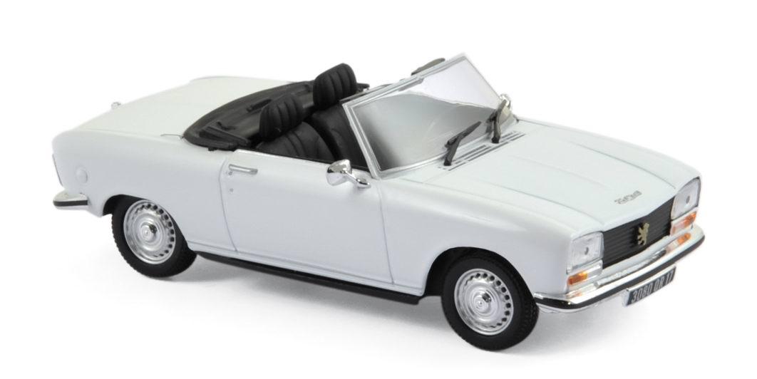 voiture miniature peugeot 304 s cabriolet blanc alaska de 1973 norev 1 43 ebay. Black Bedroom Furniture Sets. Home Design Ideas