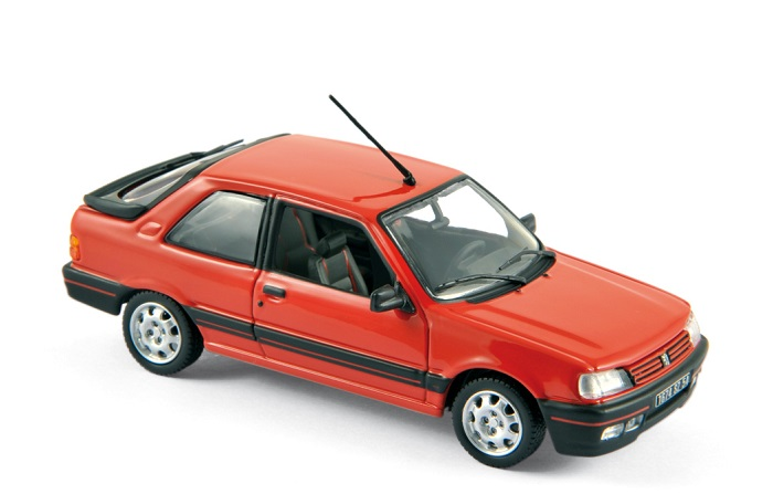 PEUGEOT 309 GTI Vallelunga Rouge 1987 NOREV 1/43