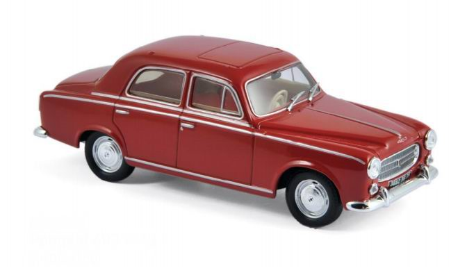 Voiture Miniauture PEUGEOT 403 of 1961 NOREV 1/43
