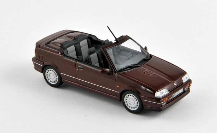 RENAULT 19 Cabriolet Phase 1 Prune de 1990 NOREV 1/43