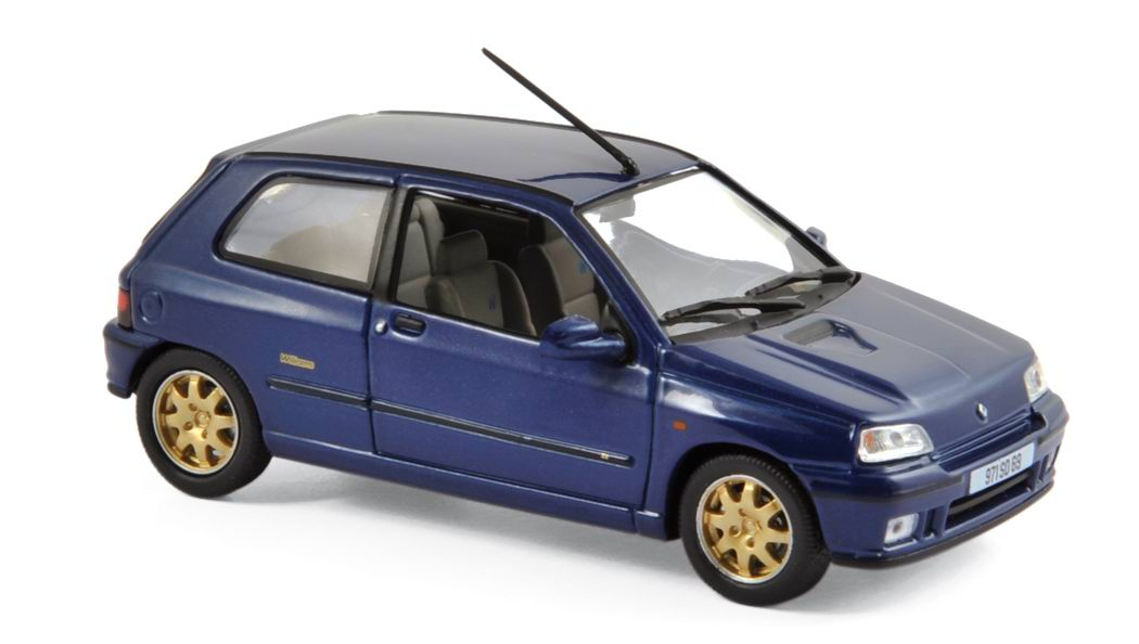 voiture miniature RENAULT Clio Williams 1996 NOREV 1/43