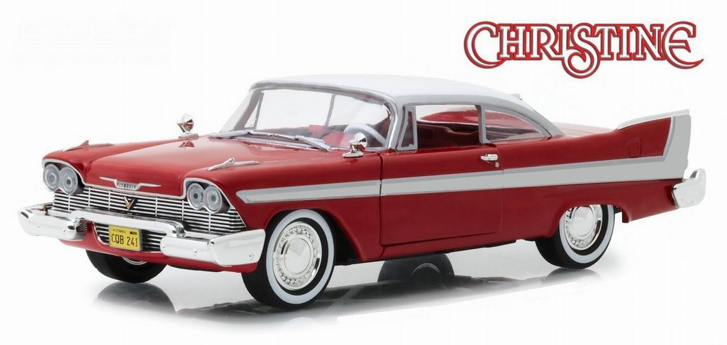 Miniature Voiture Plymouth Fury 1958 Daytime version Christine 1/24