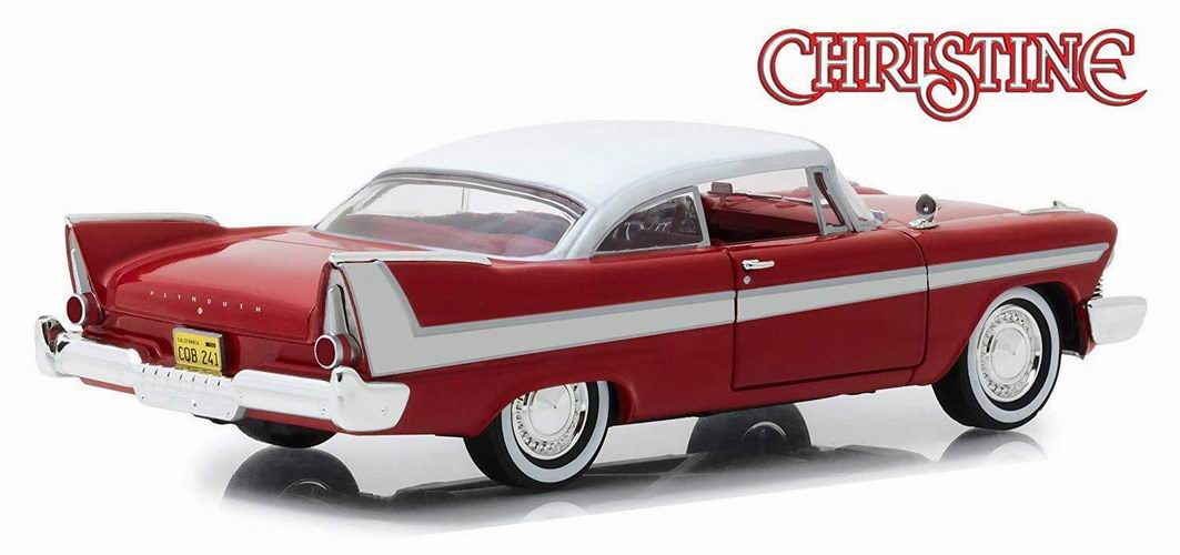 Miniature Voiture Plymouth Fury 1958 du film Christine 1/24