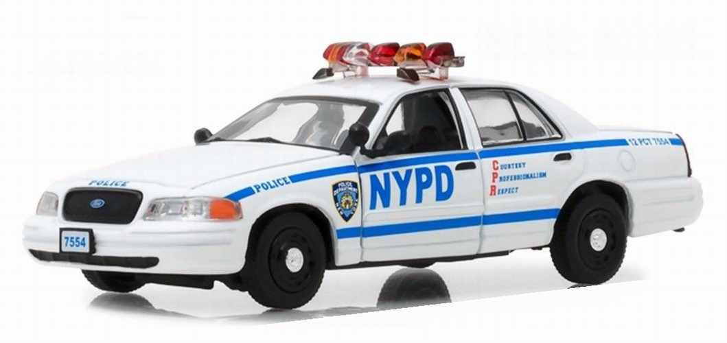 Miniaturesgt; Crown Victoria Collectibles Greenlight Ford Police oBerdCx
