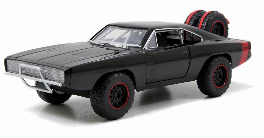 Voiture Dodge Charger RT 1970 Fast and Furious 7 Die Cast - 1/24ème