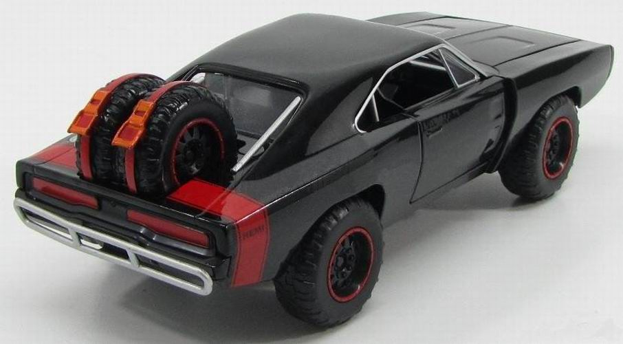Voiture miniature Dodge Charger RT Off Road 1970 Fast and Furious 71/24ème