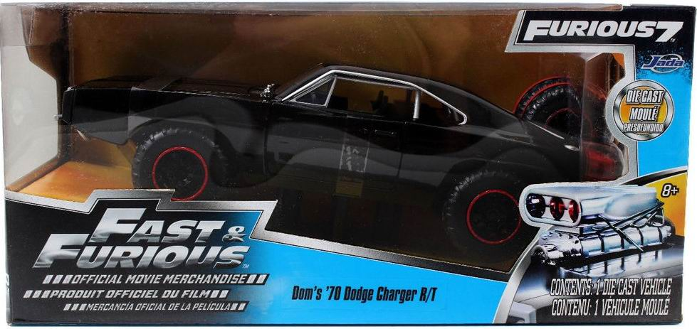 Voiture miniature Dodge Charger RT Off Road 1970 Fast and Furious 7 1/24ème