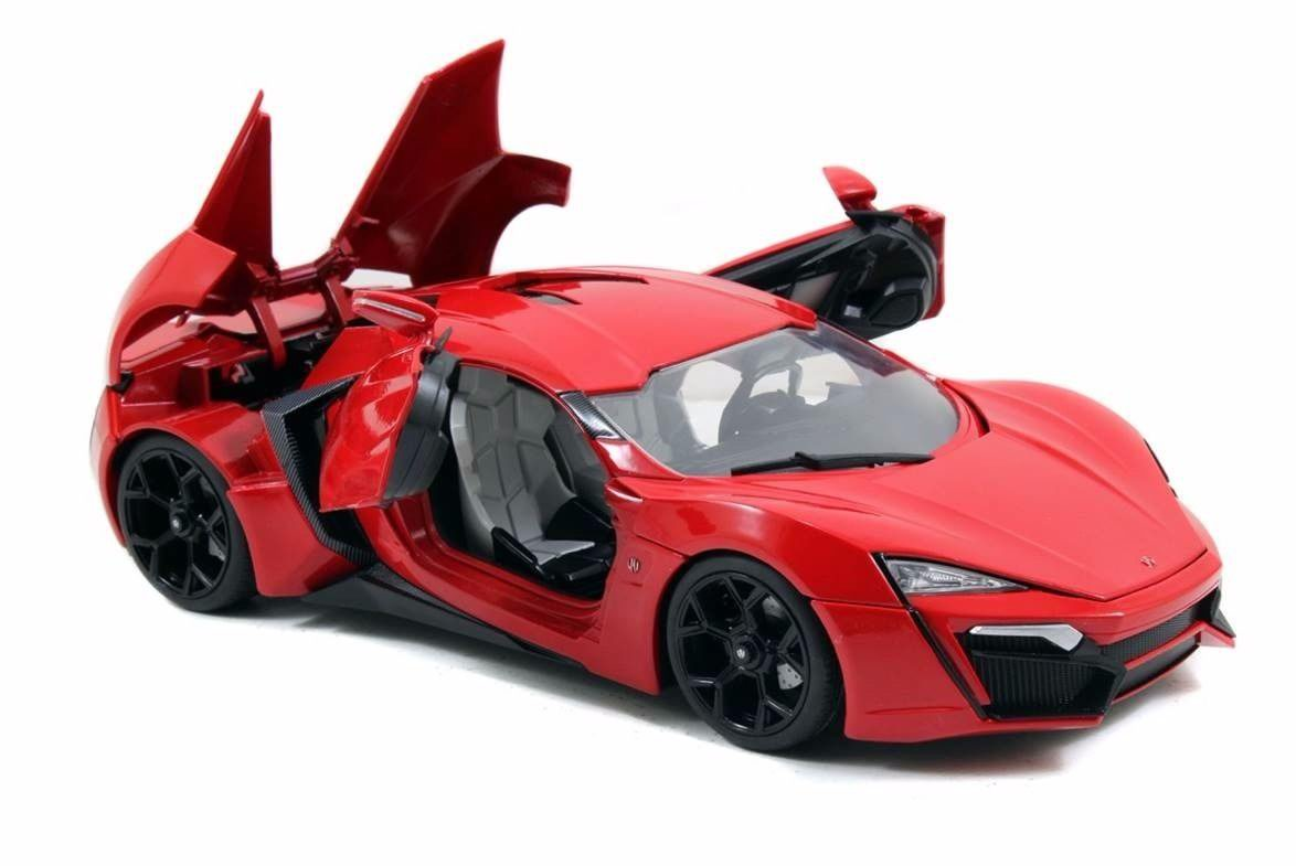 v hicule lykan hypersport fast and furious 7 au 1 18 ebay. Black Bedroom Furniture Sets. Home Design Ideas