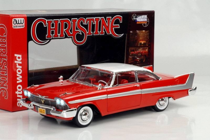 Diecast model car Plymouth Fury 1958 Daytime version Christine 1/18