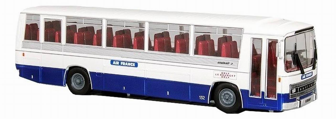 Autocar BERLIET Cruisair 3 AIR FRANCE Orly Le Bourget Orly de 1969 1/43