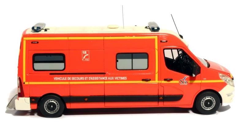 camion de pompiers renault master long gifa vsav 77 chelles 1 43 alerte ebay. Black Bedroom Furniture Sets. Home Design Ideas