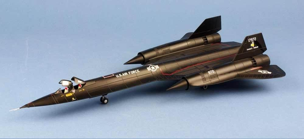 maquette Lockheed SR-71 Blackbird 9th SRW61 1972-1975 1/72