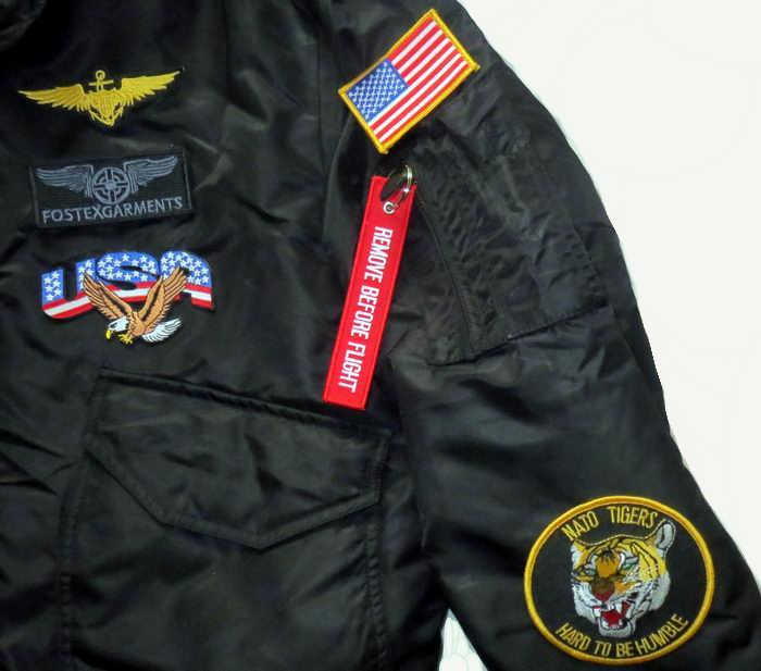 35135ca1d Aviation > Flight jackets > Fostex garments > Cwu45 jackets > Black ...