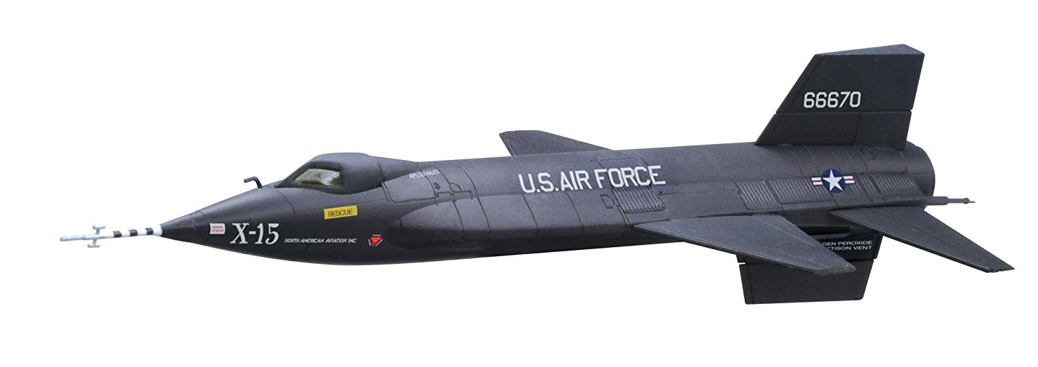 Maquette North American X-15 No.1 1/144
