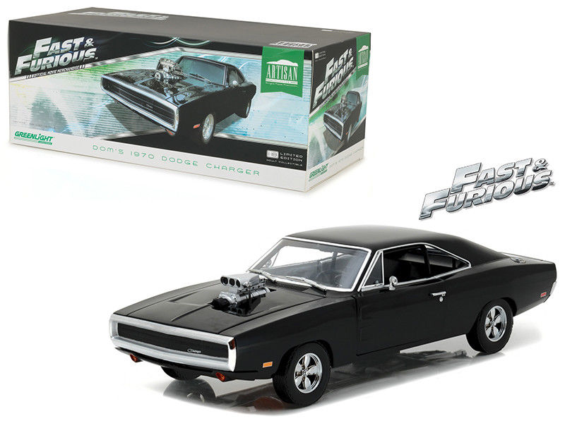 dodge charger hemi 1970 fast and furious au 1 18 greenlight ebay. Black Bedroom Furniture Sets. Home Design Ideas