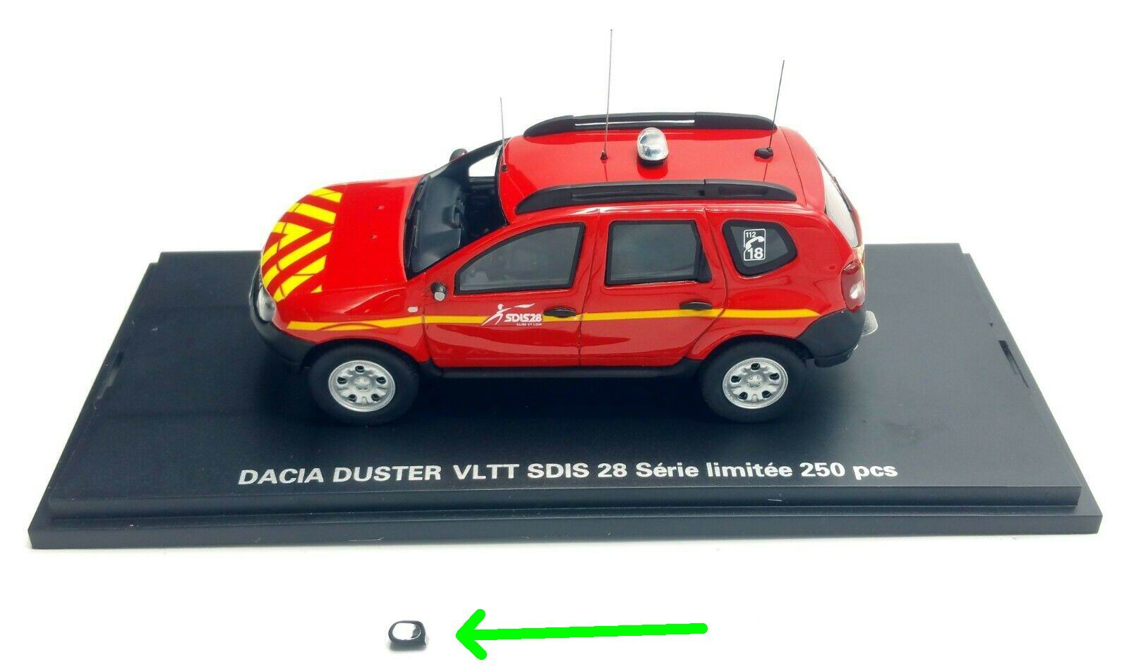 Dacia Duster Vltt Pompiers Véhicule Alarme Miniaturesgt; lcF1JTK