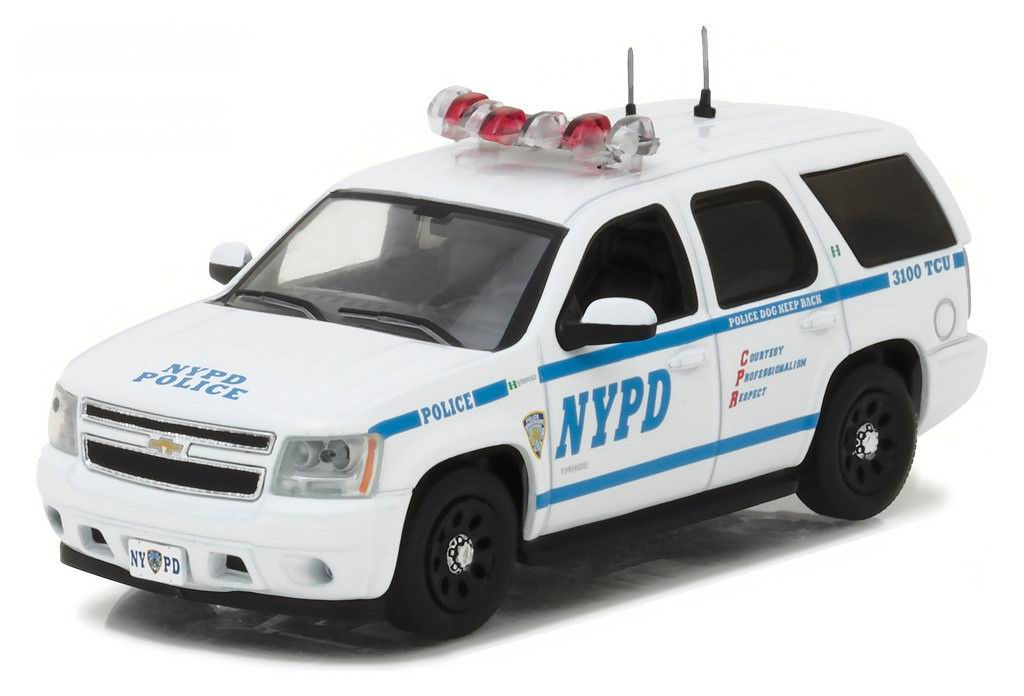 Voiture CHEVROLET Tahoe 2012 NYPD NEW YORK POLICE DEPARTMENT 1/43