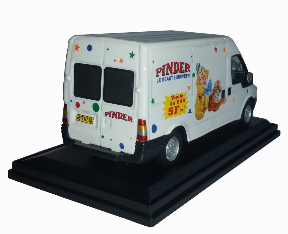 Camionnette miniature Ford Transite Pinder 1/43