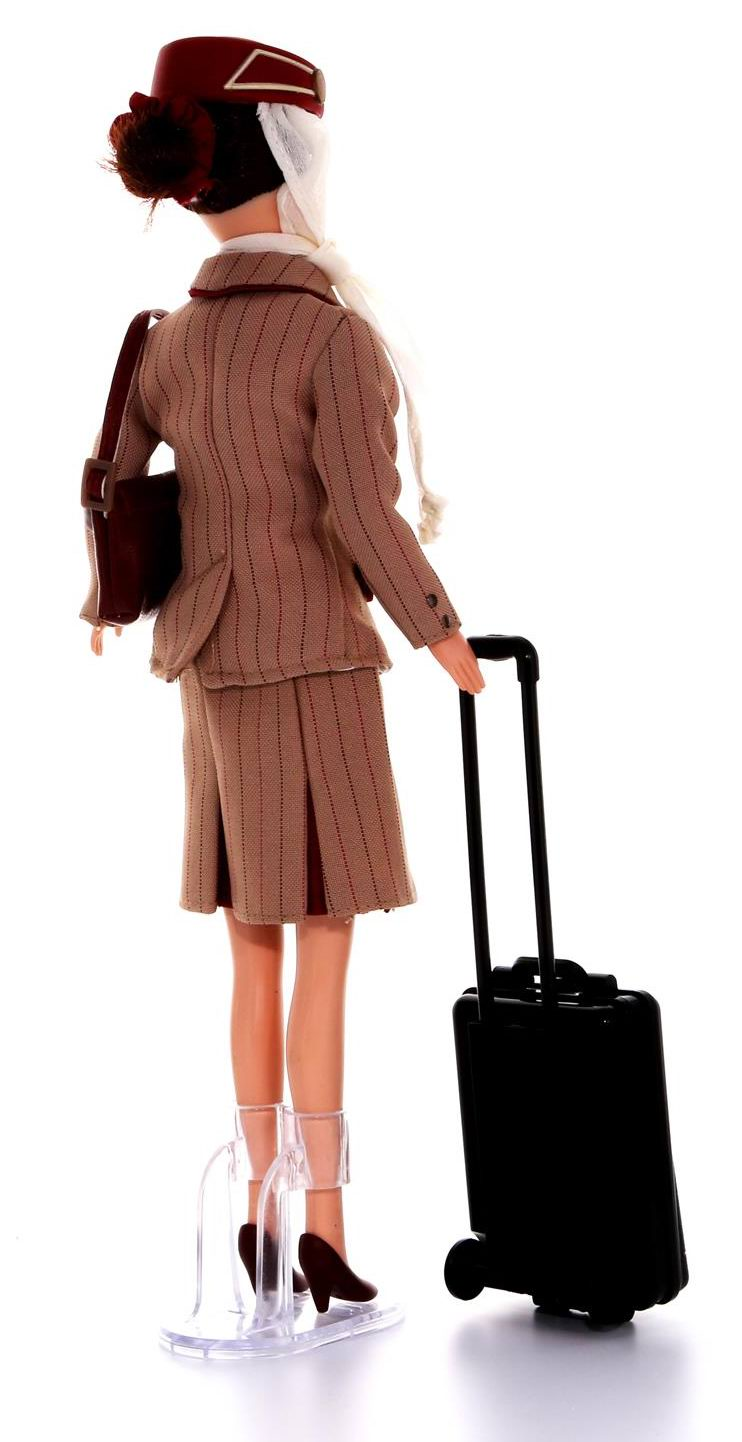 poup e h tesse de l air emirates flight attendant emirates doll 32 cm ebay. Black Bedroom Furniture Sets. Home Design Ideas