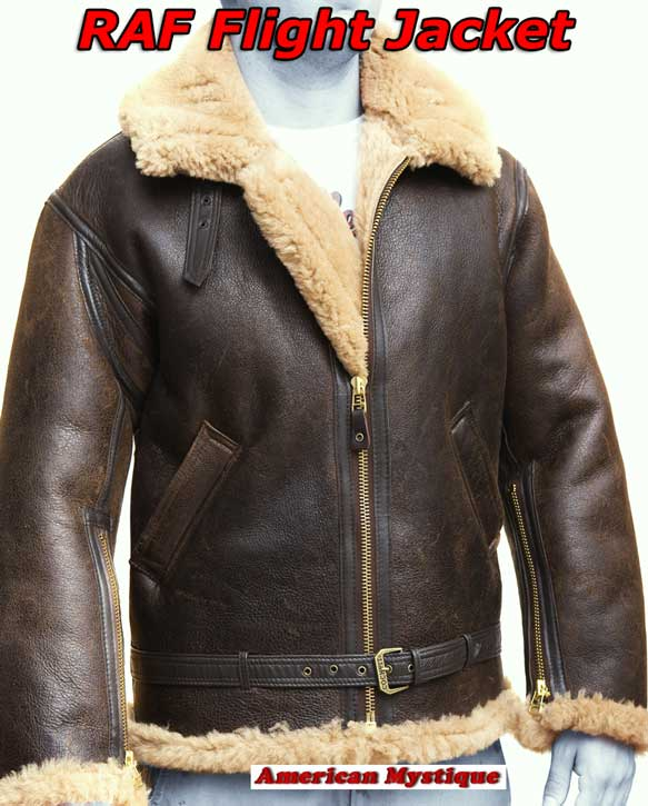 R.A.F. Sheepskin Jacket COCKPIT USA formerly Avirex LTD