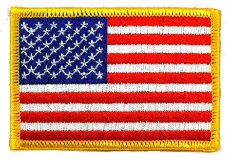 Patch USA drapeau