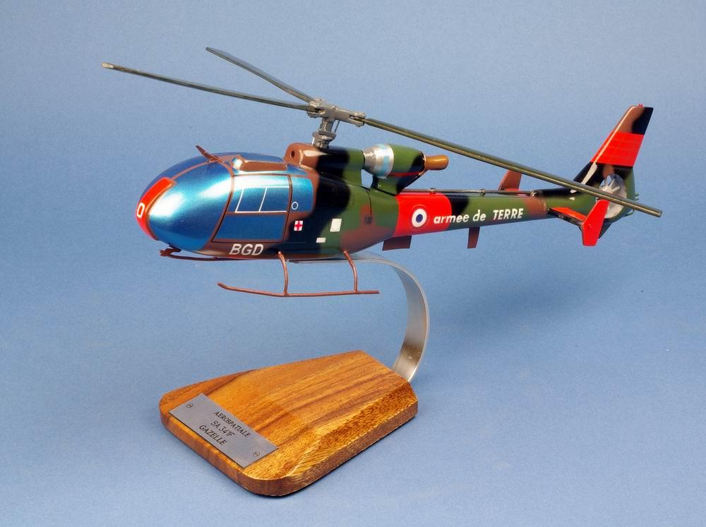maquette Hélicoptère Gazelle ...