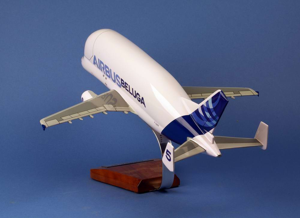 maquette Airbus A300-600ST Beluga N°5 AIRBUS INDUSTRIES