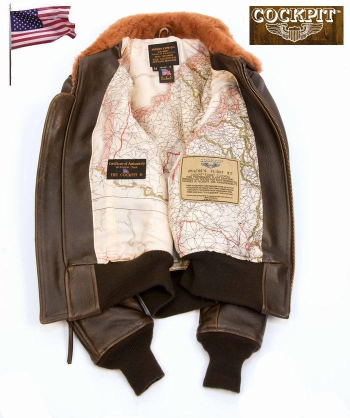 Blouson en cuir G1 pour Femme COCKPIT - AVIREX