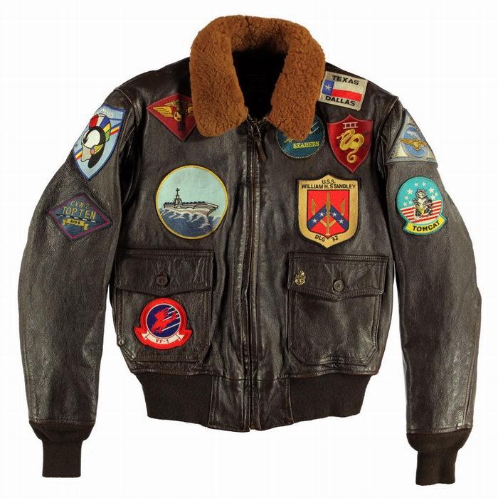 Blouson aviateur du film Top Gun Tom Cruise NAVY G-1 COCKPIT - AVIREX