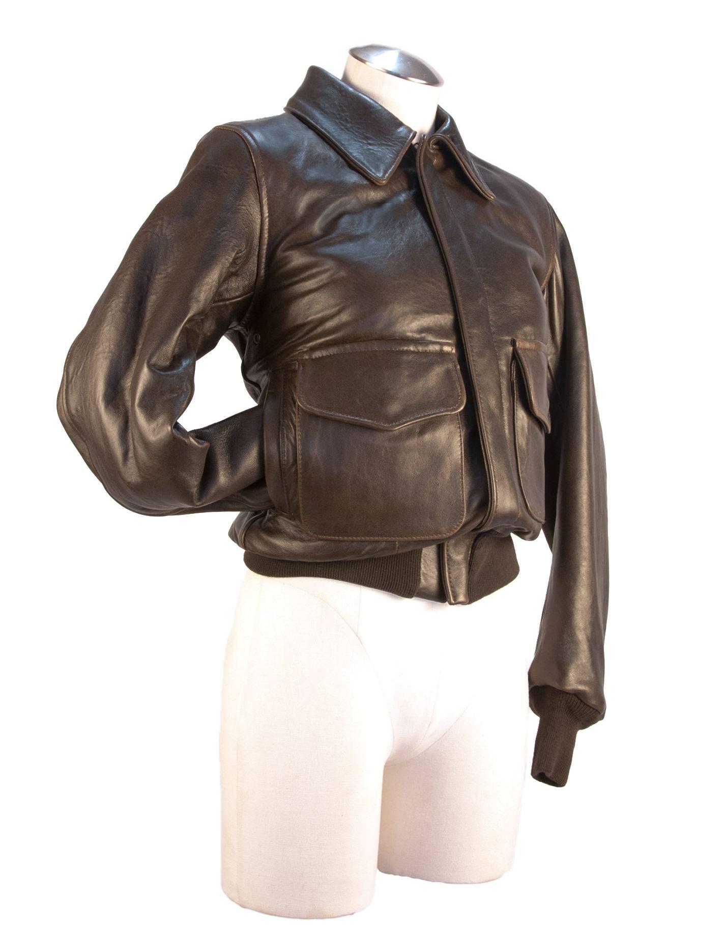 Blouson en cuir A-2 WASP pour Femme COCKPIT - AVIREX