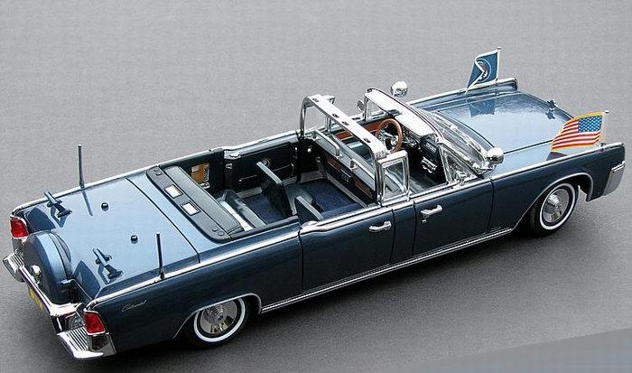 Models Presidential Car 1961 Lincoln X 100 Kennedy 1 24 Jfk