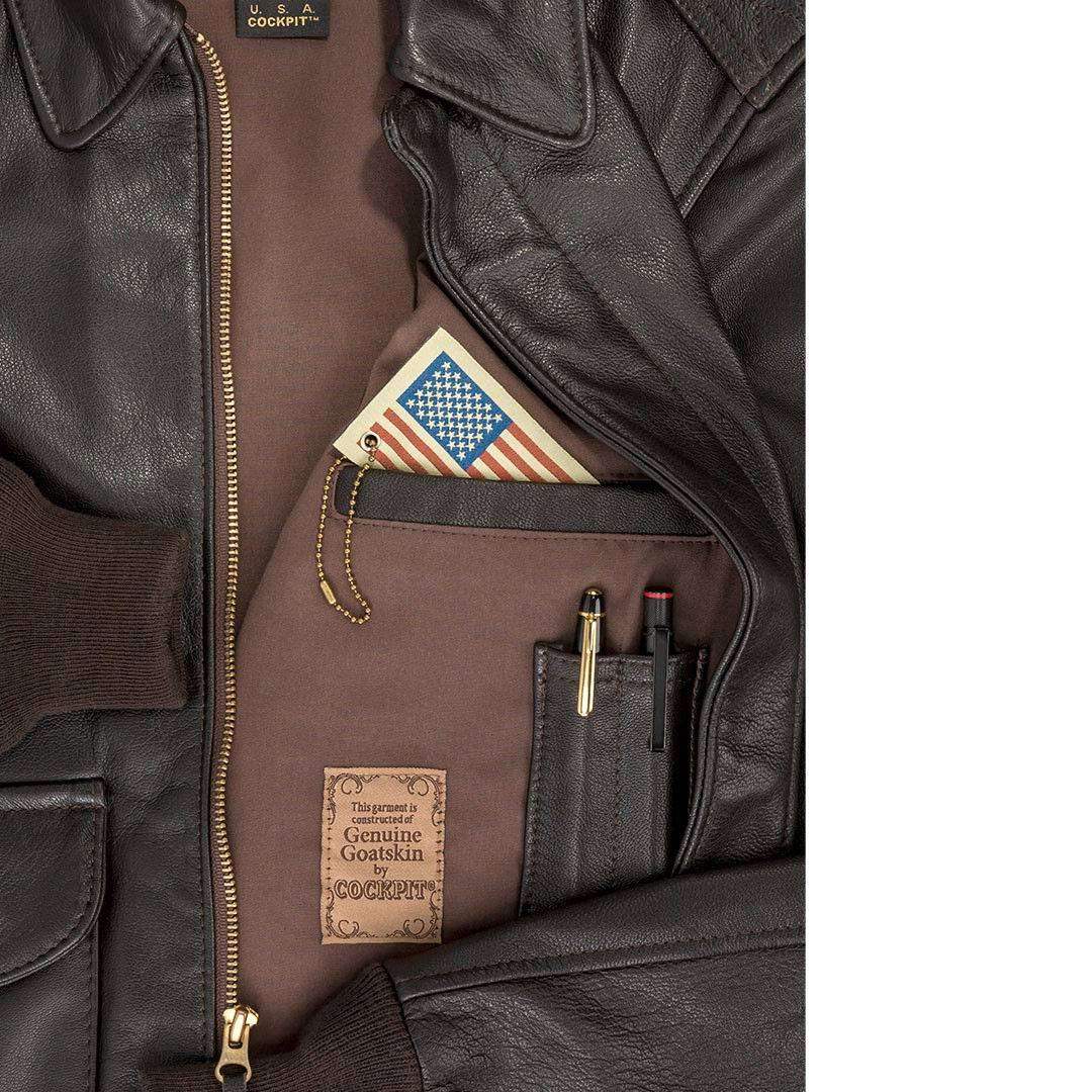 d772d547928 Aviation   Flight jackets   Cockpit usa ex avirex man   A2 leather ...